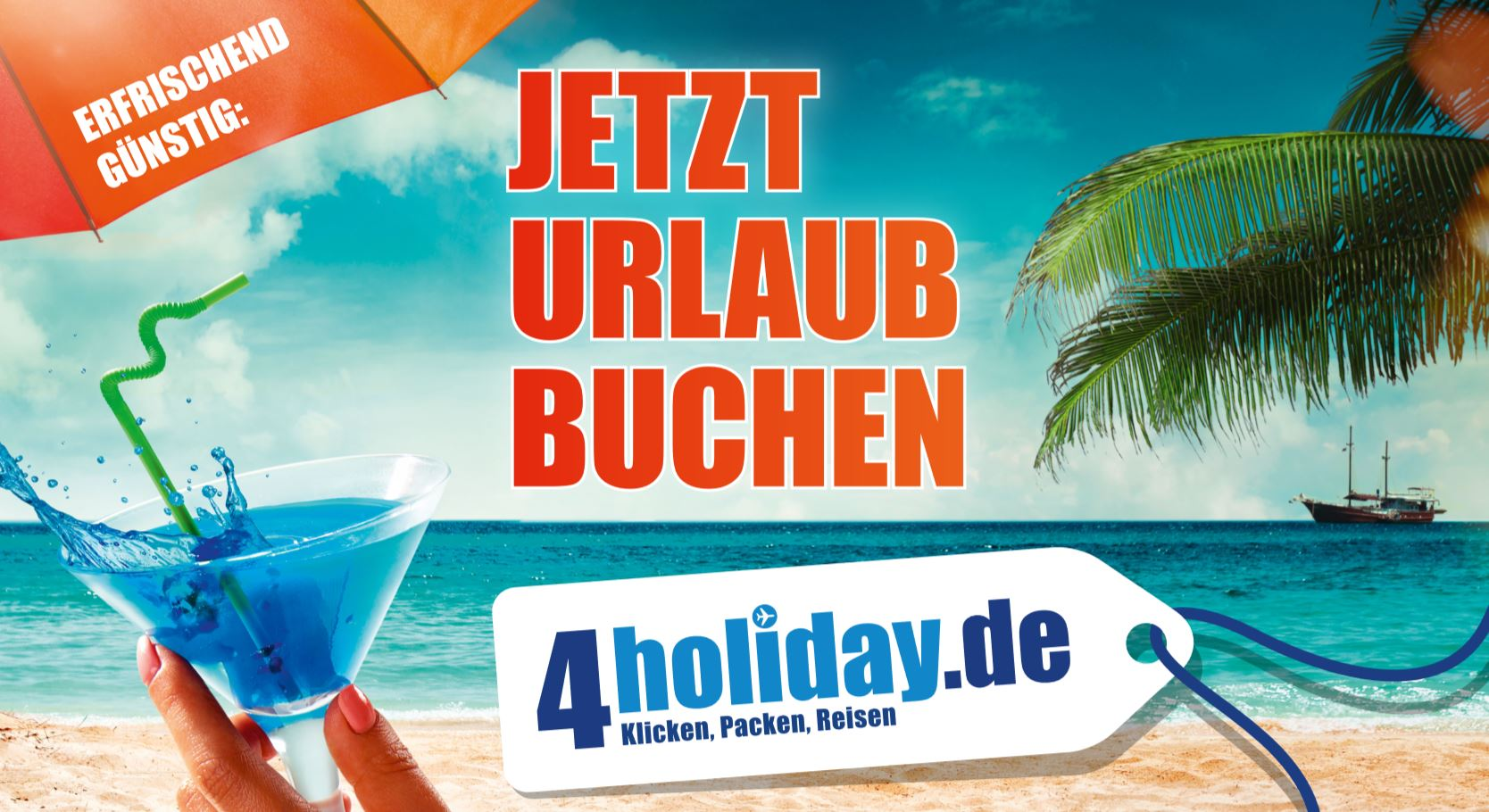 4holiday.de – Klicken, Packen, Reisen